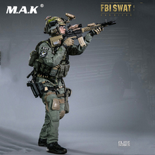 1:6 Full Set Man Figure FBI SWAT TEAM AGENT SAN DIEGO American Detective 78044 A for Collectible Gift