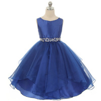 Flower Girls Dress For Weddings First Holy Lace Communion Dresses For Girls Kids Party Wear Girl