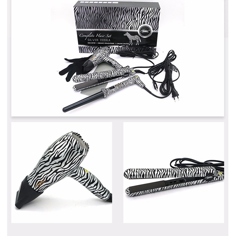 FMK 3 in 1 Hair Styling Tools Set