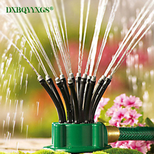 4pc Directional garden/lawn sprinkler Flexible Auto Lawn Irrigation Water Nozzle Plant vegetable Watering Tools Angle adjustable