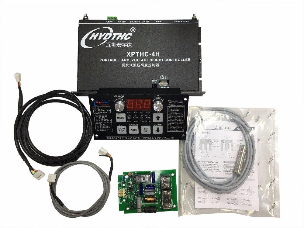 Stand alone HYD THC controlador de altura da tocha de plasma arc sensor XPTHC-4H para máquina de corte plasma
