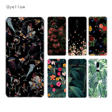 Uyellow Flower Sketch Silicone Soft TPU Phone Case For One Plus 7 Pro 6 6T 5 5T Fashion Shell Fundas Printed Cover Luxury Coque