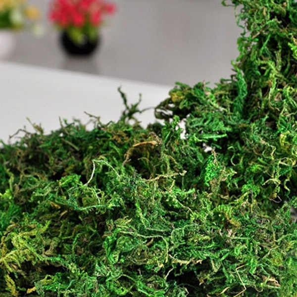 Creative Dried Artificial Moss Lining Decor Flower Hanging Baskets Gardening Crafts 8 OC31 For Drop Ship