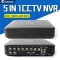 H.264 8-канальный AHD DVR CVI TVI 5 В 1 Рекордер 960 P 720 P Записи AHD-NH/1080N Или 960 H (аналоговый) CCTV AHD DVR Поддержка Нескольких языков
