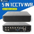 H.264 8ch cvi tvi ahd dvr 5 en 1 grabadora de 960 p 720 p ahd de grabación-nh/1080n o 960 h (analógico) CCTV AHD DVR Soporte Multi idioma