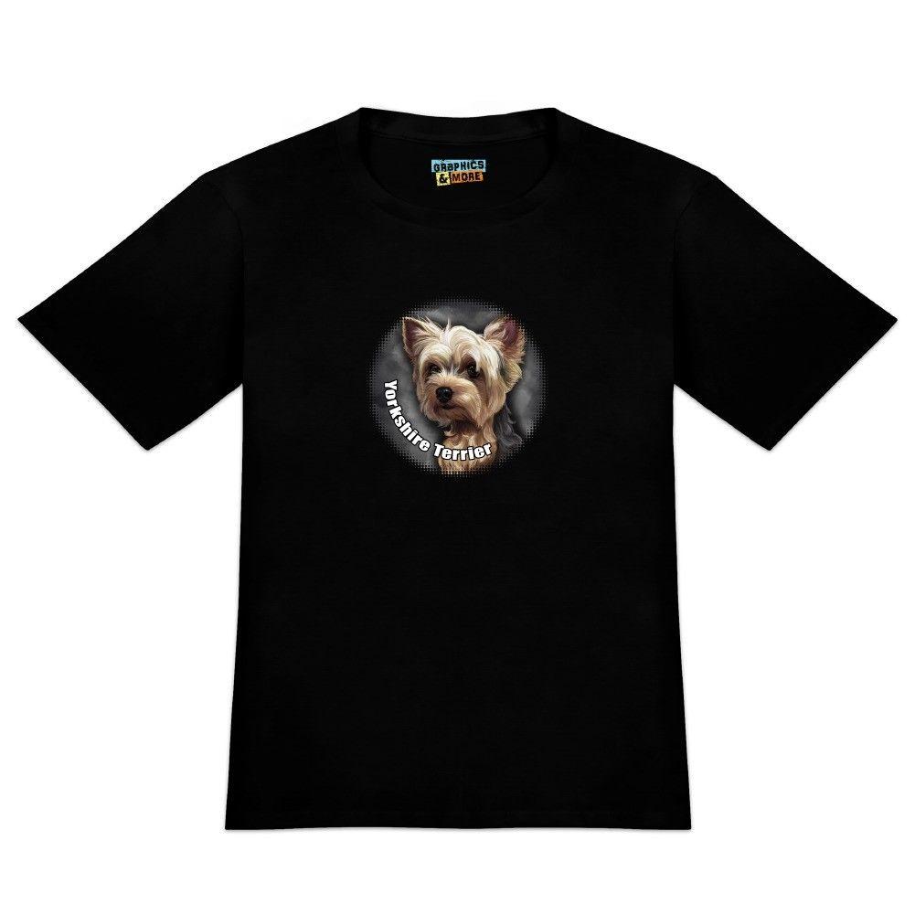 Yorkshire Terrier Yorkie Dog Pet Mens Novelty T-Shirt