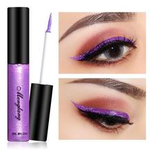 Glitter Metal  Eye Liner Cosmetics Metallic Eyeliner Liquid Waterproof Lasting Shiny EyeLiner Makeup