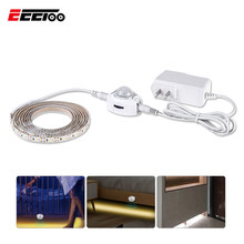 EeeToo LED Auto Sensor Under Cabinet Lights Wireless PIR Wardrobe Night Light for Kitchen Illumination Bedroom Stairs Wall Lamps(China)