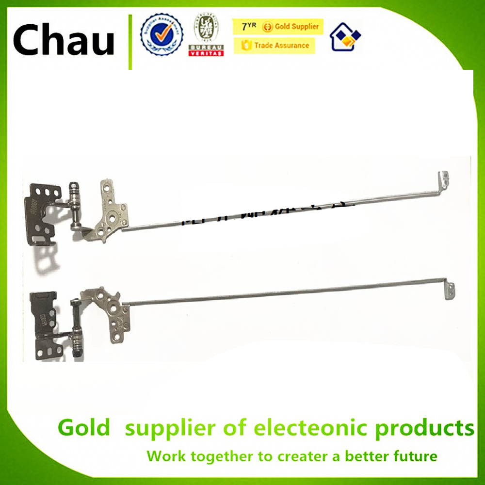 Chau New For Asus FX80 FX80G FX80GD Fx504 LCD Hinge Set Left & Right Rails Set Frame Brackets Laptop LCD Screen Hinges