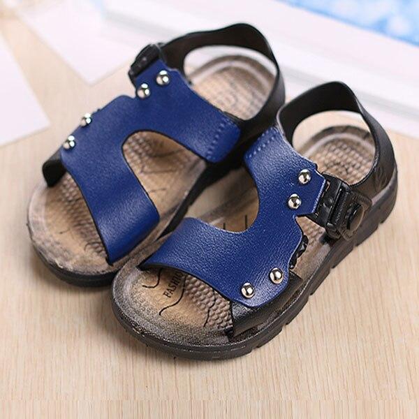 hot sale 2016 summer children shoes boys sandals fashion slip-resistant children sandals boys shoes baby boy sandals kids shoes