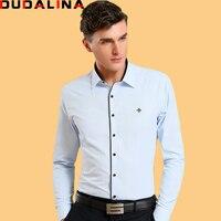 Dudalina Camisa Male Shirts Long Sleeve Men Shirt Brand Clothing Smart Casual Slim Fit Camisa Social