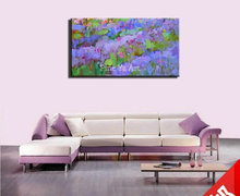 Handmade Large Acrylic Knife paint decorative abstract modern wall art living room wall painting oil on canvas for bedroom decor