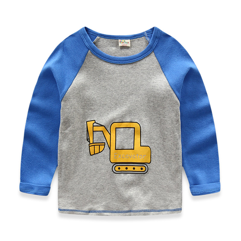 SP-SHOW cotton cartoon print t-shirt children clothing kids t-shirt small children cotton clothing недорго, оригинальная цена