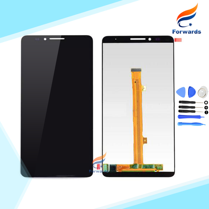 100% Brand new LCD for Huawei Mate 7 Screen Display with Touch Digitizer + Tools Assembly Black&White&Gold 1 piece free shipping brand new lcd for samsung s5 i9600 g900a g900f g900t screen display with touch digitizer tools assembly 1 piece free shipping