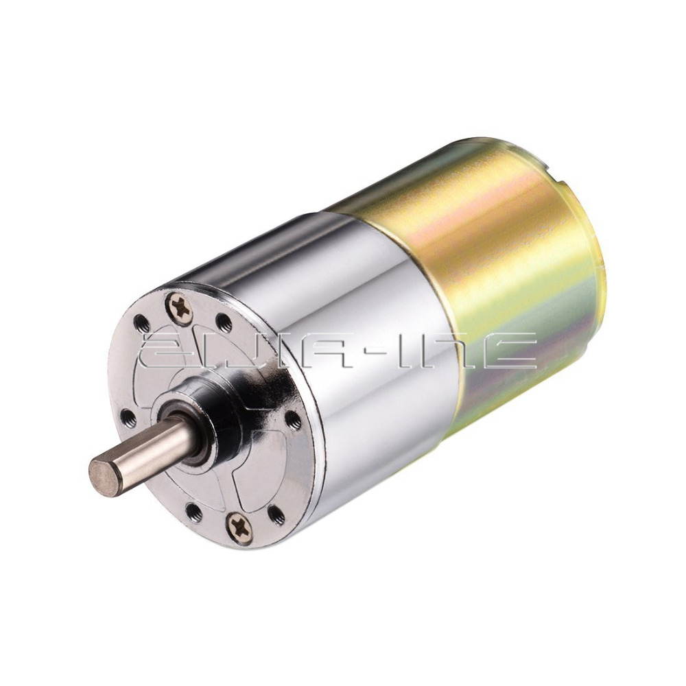Dc 12v high torque reversible gear box speed control for Speed control electric motor