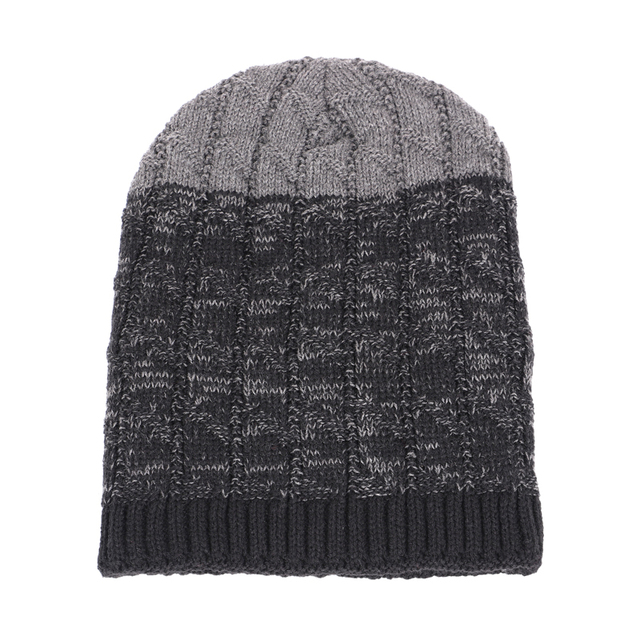 Unisex winter beanie hat and scarf