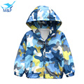 M&F New Boy Fashion Jackets Baby Outerwear & Coats Hoodies Jackets, Handsome Camouflage Pattern Coat, Spring Autumn Baby Coats