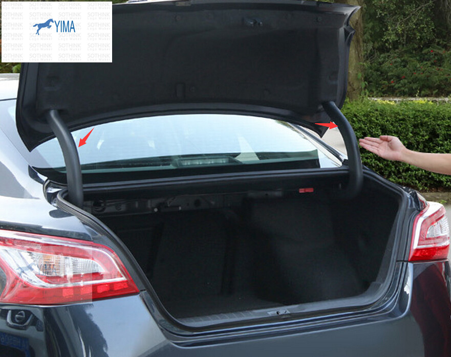High Quality ! Plastic / Rear Trunk Hinged Protective ...
