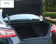 Высокое качество! Пластик/задний багажник навесных Защитная крышка обрезать 2 шт. для Nissan Teana/altima 2013 2014 2015