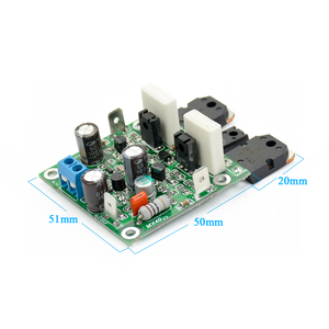 Image 3 - Aiyima 2PCS MX40 Dual Channel Stereo Audio Power Amplifier Board Amplificador 50W 8R