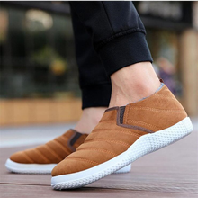 Men Shoes Boots Men Ankle 2018 New Winter Boots Low-top Casual Shoes Man Plush Fashion Warm Cotton Shoes Slip-on Non-slip christmas winter men shoes new cotton shoe men fashion warm plush slip on casual shoes outdoor flat platform psapato masculino