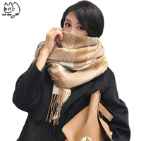 New Fashion Trendy Women's Long plaid Scarf Wrap Ladies Shawl Lady Large Pretty Scarf Tole Beach Beauty Women Accessory Gifts