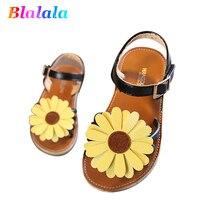 f920b9b6de03f0 Summer sunflower patch soft sole baby girls fashion sandals kids breathable  beach shoes children sandals 14