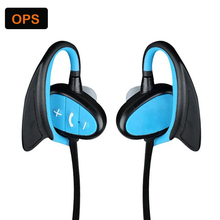 IPX8 waterproof Bluetooth earphone HD noise headset EAR-HOOK headset for sport/driving/running/swimming