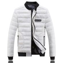 Fashion New Men Jackets Parka Hot Sale Quality Winter Warm Outwear Coat Casual Design Solid Male cotton Jackets size L-4XL