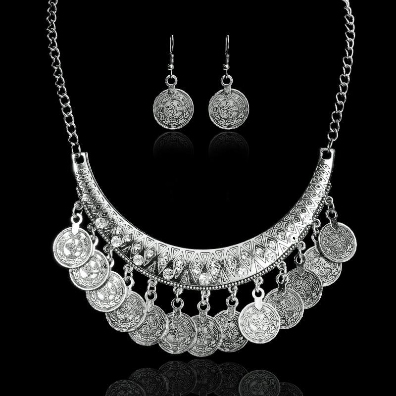 Hot Sale Bohemian Vintage Chokers Necklaces Fashion Ethnic