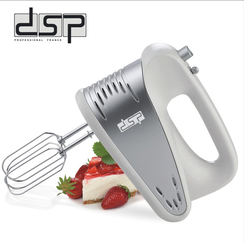 dsp 5-Speed Electric Hand Mixer Hand-held Mixers Includes Beaters Dough Hooks hand held rsg 100atc 0 32