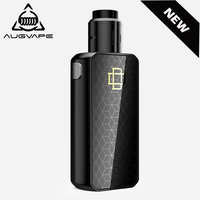 Augvape Druga Foxy Electronic Cigarette kit Dual 18650 Battery 150W Quick Release Button OLED Digital Display Box Mod Vape