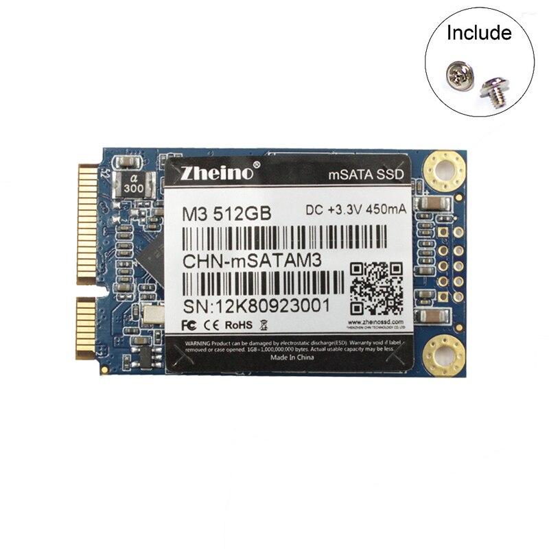 Zheino msata M3 512GB SSD Solid Hard Drive SSD News Arrivals For Laptop PC