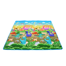Детские Сканирование мат 0,5 см Толщина играть ковер из мягкой пены Eva тренажерный зал игры Ковры Детей двойными бортами Playmat динозавр автомобиль одеяло