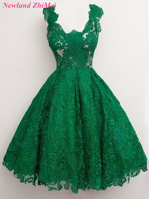 Aliexpress.com : Buy Great Design Emerald Green Lace Cocktail ...
