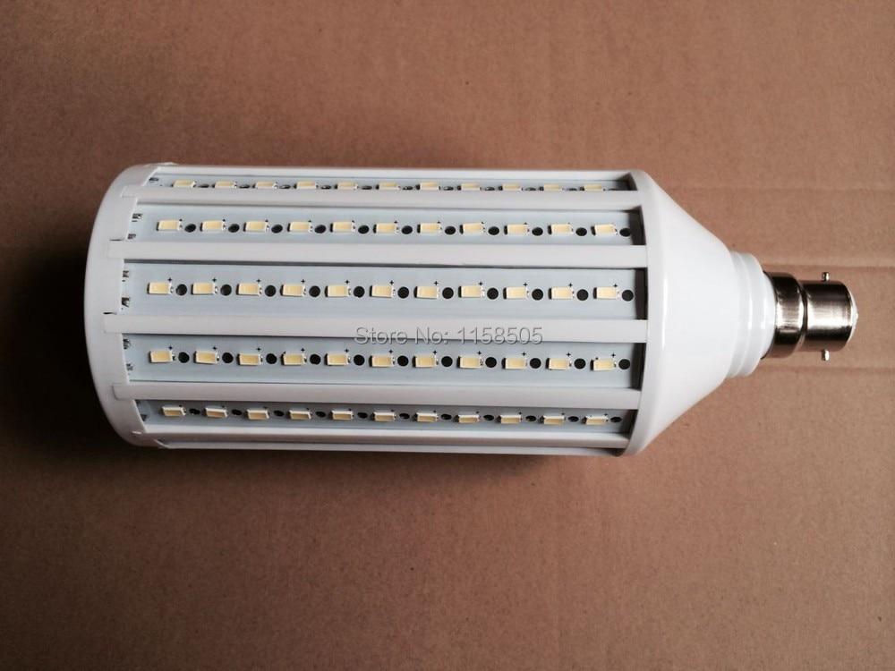 2014 NEW B22 55W LED Light Bulb 5730 SMD 176 LED Chip Ultra bright 110V/220V/230V/240V/AC White/Warm White Led Spotlight Lamps new super bright led bulb e27 12w 16w 30w 50w 220v cold white warm white round led light lamp 5730 chip for house home office
