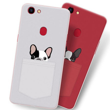 2pcs For oppo a73 Case 6.0 Cute Cartoon Painting Soft Back Cover A 73 case Phone Cases A73 shell