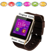 dz09 smartwatch 1pcs white black gold smart watch ios dz09 cheap-android-phone mobile watch phone than gto8 m26 u8 u