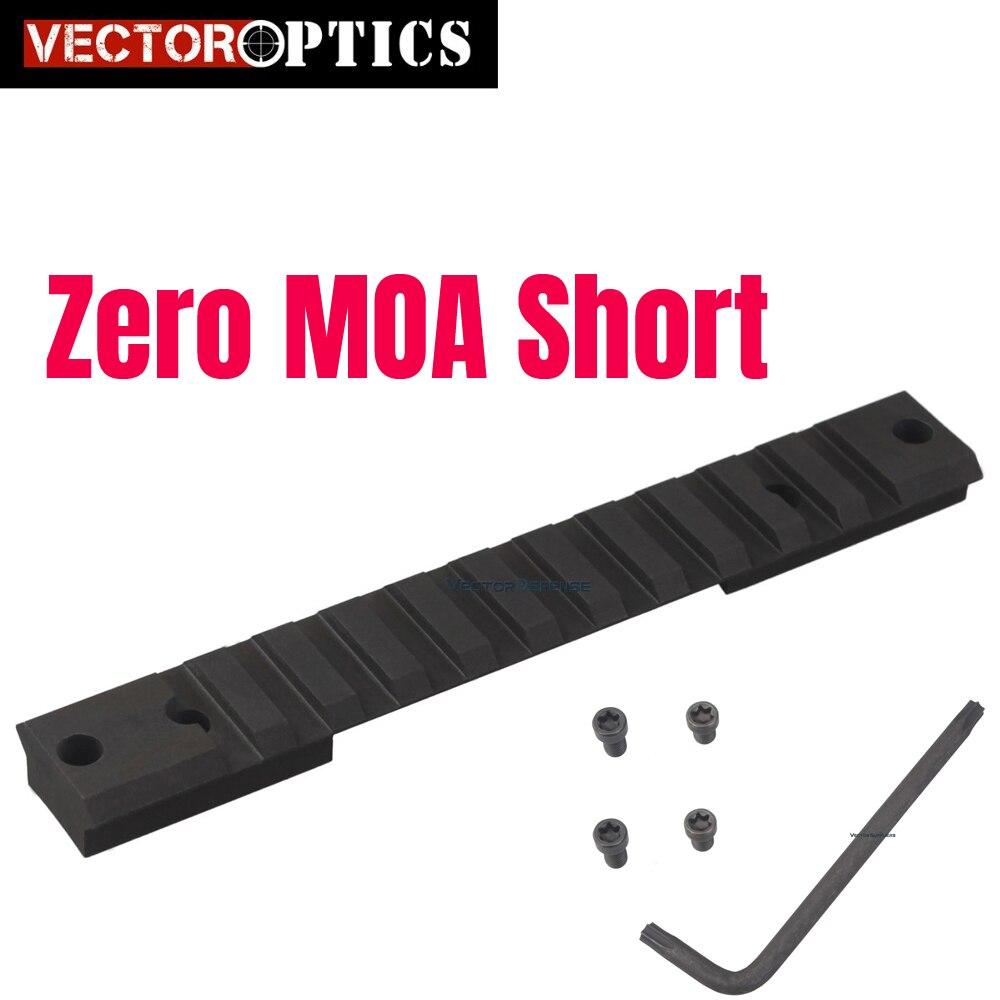 Vecteur optique Remington 700 acier Picatinny Rail Mount Action courte tactique Fit Rem 700 Ruger 10/22 brunissage x-bolt récepteur