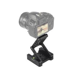 Image 5 - Andoer z shaped Flex Tilt głowica statywu 360 stopni płyta szybkiego uwalniania stojak do montażu na stojaku Canon Nikon Sony Pentax lustrzanka cyfrowa