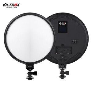 Image 2 - Viltrox Lámpara de luz LED para estudio de vídeo, VL 500T, 25W, delgado de doble Color, batería F550 regulable para foto de cámara, grabación de vídeos, YouTube