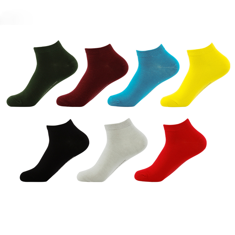 Hot Sale Brand Socks High Quality Fashion Cotton Men Socks Meia Happy Socks Harajuku Short Summer Funny Socks Men