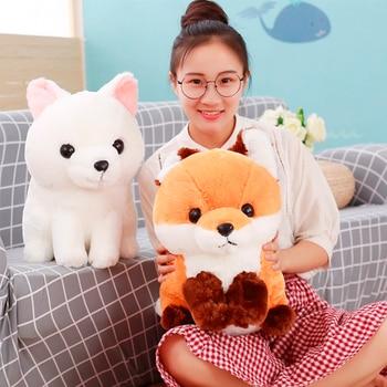 1Pcs 40CM Soft Cute Long tail Fox Plush Toy Stuffed Kids Doll Fashion Kawaii Gift for Children Birthday Gift Home Shop Decor
