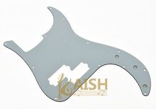 KAISH USA Spec Precision Bass P Bass Pickguard Scrach Plate White 3 Ply