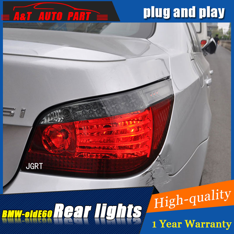 Car styling Accessories for BMW E60 rear Lights led TailLight for i520 523 525 530 Rear Lamp DRL+Brake+Park+Signal lights led car styling accessories for bmw e90 rear lights 2005 2008 led taillight for e90 rear lamp drl brake park signal lights led
