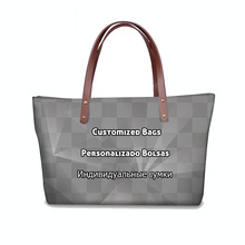 FORUDESIGNS Customized Women Tote Handbags Brand Designer Printing Handbag Girls Large Fashion Waterproof Bag