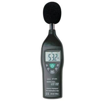 DT-805 noisemeter Sound Level Meter Data reading hold,30 to 130dB,31.5Hz to 8kHz