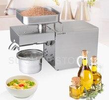 220В/110В автоматическая машина для прессования масла, домашний пресс для масла, экстрактор масла семян из нержавеющей стали, мини машина для прессования холодного горячего масла
