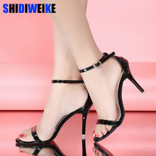New Arrival Hot-selling Summer shoes Peep Toe Sweet Fashion Women's Sandals Thin Heel Pumps Princess High Heels Women Shoes m460(China)