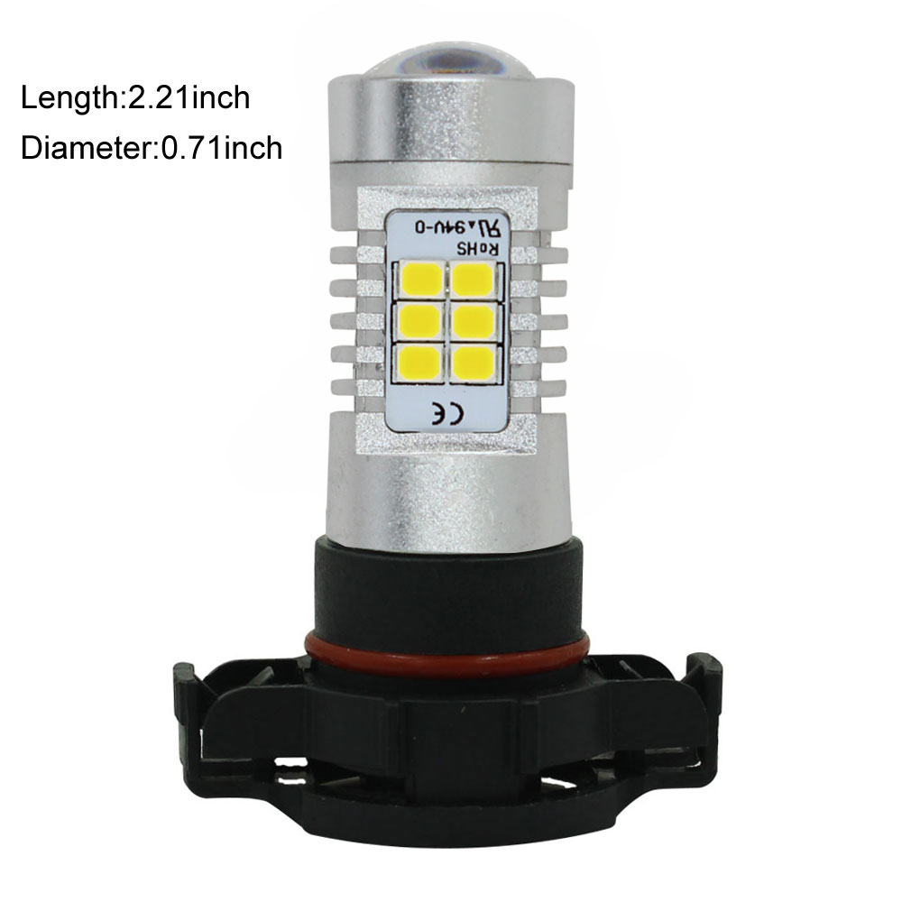 Kammuri <font><b>5202</b></font> 2504 9009 H16 белые Мощность 21 Вт <font><b>LED</b></font> 2835-smd днем Бег свет противотуманные DRL замены ламп